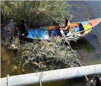 غطاسو مياه سوهاج يسبحون لتطهير محطات مياه الشرب