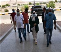 نائب محافظ أسوان تعود لعملها بعد الشفاء من كورونا