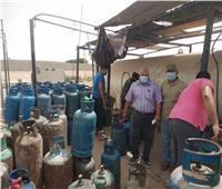 حملة لمتابعة المخابز ومحطات تعبئة الغاز بشمال سيناء