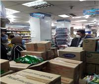 نائب محافظ القاهرة يتابع توافر السلع الاستهلاكية بالمحلات