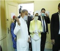 وزيرة الصحة تمنع الزيارات في مستشفى أم المصريين