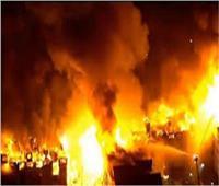 حريق هائل بمصنع حلويات بالشرقية إثر انفجار مولد الكهرباء