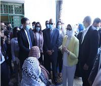 وزيرة الصحة تتفقد وحدة صحة المستقبل ب6 أكتوبر لمتابعة مبادرة الرئيس للأمراض المزمنة