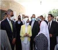الفيوم المحطة الثالثة في جولة وزيرة الصحة لمتابعة العمل بمبادرة الرئيس