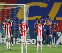 شاهد  راكيتيتش يقود برشلونة لفوز مهم على بيلباو
