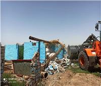 محافظ أسوان: إزالة 30 حالة تعدى على الأراضي أملاك الدولة اليوم
