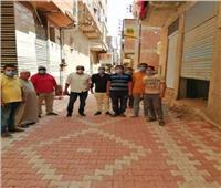 أهالي قرية بالغربية يرصفون شوارعها بـ«الانترلوك»
