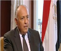 «شكري» يبحث التعاون الثلاثي مع وزيري خارجية الأردن والعراق