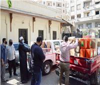 صور| استعداداً لفتح المساجد.. توزيع مستلزمات التطهير والتعقيم على مديريات «الأوقاف»