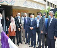 وزير التنمية المحلية ومحافظ القليوبية يتفقدان مدرستين ثانوية عامة بشبرا الخيمة
