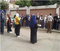 انتظام في مشهد امتحانات الثانوية العامة أمام لجان محافظة القليوبية