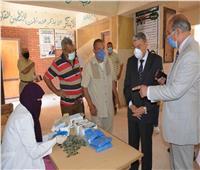 محافظ المنيا يتابع سير امتحانات الثانوية العامة في عدد من اللجان