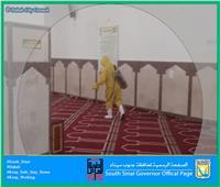 بدء إجراءات التطهير لمساجد مدينة دهب استعدادا لفتحها