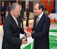 «أبوريدة» يشكر الرئيس السيسي على اتفاقية بقاء مقر الكاف في مصر