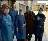 متعافية من كورونا بالقليوبية توجه الشكر للأطقم الطبية