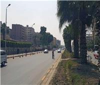 قطع عرضى لشارع الهرم لتنفيذ أعمال الخط الرابع لمترو الأنفاق