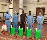 تطهير مساجد سوهاج استعدادا لاستقبال المصلين