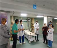 «العناني» يتفقد مستشفى العلمين المركزي بالساحل الشمالي