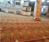 صور| مساجد وكنائس الغربية جاهزة لاستقبال المصلين