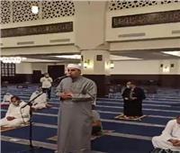بث مباشر| «حي على الصلاة».. أول أذان للفجر بدون «صلوا في بيوتكم» من المسجد الجامع بمدينتي