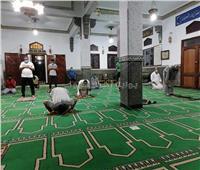 صور| بـ«الكمامات».. أول صلاة بمسجد الصحابة في شرم الشيخ بعد إعادة الفتح