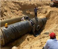 الانتهاء من ربط  خط المياه لتغذية المناطق الصناعية الثقيلة بالعاشر من رمضان