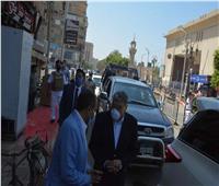 محافظ المنيا يشدد على عدم التهاون والغلق للمخالفينتنفيذاً لقرارات مجلس الوزراء