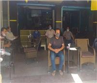 حملات على المطاعم والكافتريات في السويس لمتابعة تطبيق الإجراءات الاحترازية