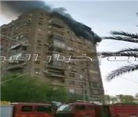 صور| حريق شقة سكنية بعمارات العبور في صلاح سالم