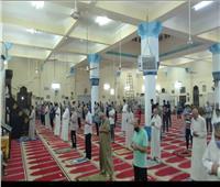 صور|صلاة الفجر من مسجد الشهيد وائل محمد كمال بالهايكستب