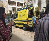 إصابة 5 ملاحظين ثانوية عامة في حادث بطريق القاهرة - السويس
