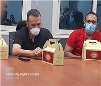 نائب مدير مستشفى النجيلة: انتهت أجمل حدوتة عزل لكورونا