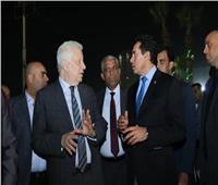 تفاصيل جلسة مرتضى منصور مع وزير الرياضة