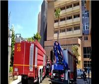 حريق محدود بالمكتبة المركزية في جامعة الإسكندرية