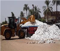 إزالة 36 حالة تعد على الأراضي الزراعية وأملاك الدولة بسوهاج خلال 7 أيام