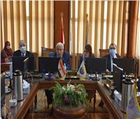 مجلس جامعة السادات يناقش قرارات الأعلى للجامعات