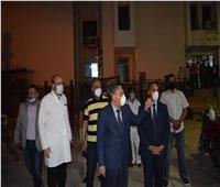 محافظ المنيا يحيل مسئول المخازن بمستشفى الحميات للتحقيق