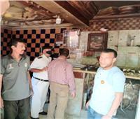 إغلاق ٤ مقاهي مخالفة وضبط ٣٢ سائق أجرة لعدم ارتداء الكمامة بالشرقية