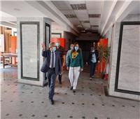 نائب رئيس جامعة بنها تتفقد استعداد الكليات للامتحانات