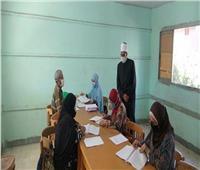 وكيل الأزهر يتفقد مركز تصحيح الامتحانات بمدينة نصر