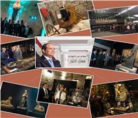 6 أعوام على حكم الرئيس| مسيرة انجازات لملوك الفراعنة في «مهمة خارجية»