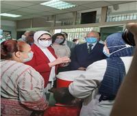 وزيرة الصحة ومحافظ القاهرة يشهدان انطلاق مبادرة التطعيم ضد شلل الأطفال