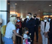 السياح لمحافظ البحر الأحمر: نشكر مصر على حفاوة الاستقبال