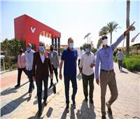 صور| «الخطيب» يتفقد الإجراءات الاحترازية بفرع مدينة نصر