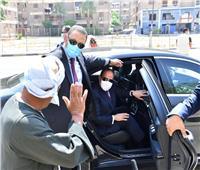 فيديو وصور  الرئيس السيسي يقوم بجولة تفقدية في مدينة نصر ومحور الإسماعيلية الصحراوي