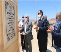 محافظ جنوب سيناء يفتتحعدة طرق رئيسية بمدينة شرم الشيخ