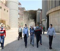 محافظ المنوفية يعلن الانتهاء من توريد محصولالقمح بإجمالي 137 ألف و964 طن