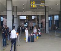 مطار الغردقة يستقبل 151 سائحا قادمين على متن طائرة سويسرية