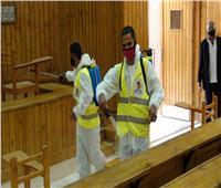 لليوم الثاني على التوالي| جامعة المنيا تستقبل طلاب الفرق النهائية لأداء امتحاناتهم