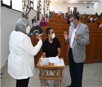 احمد الاسناوي: تطبيق الإجراءات الاحترازية في لجان الثانوية العامة بالقنطرة غرب